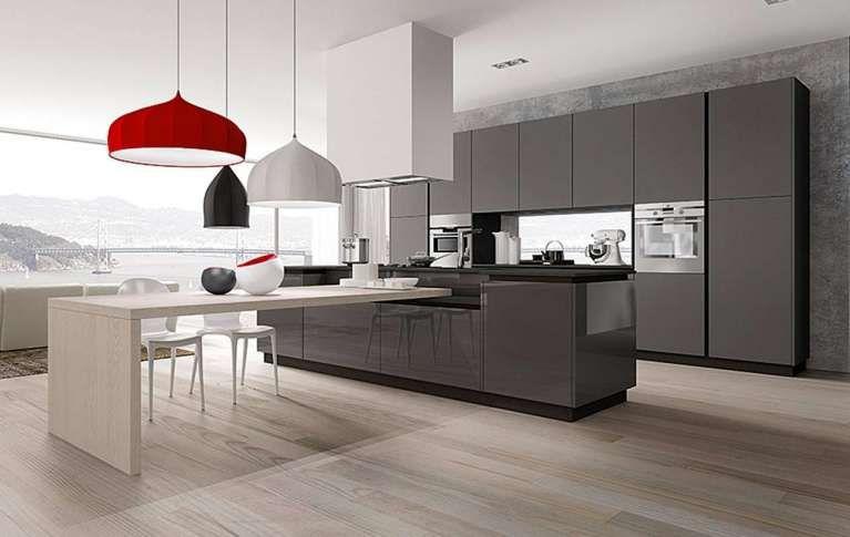 Cucine con isola vantaggi di scegliere una cucina moderna