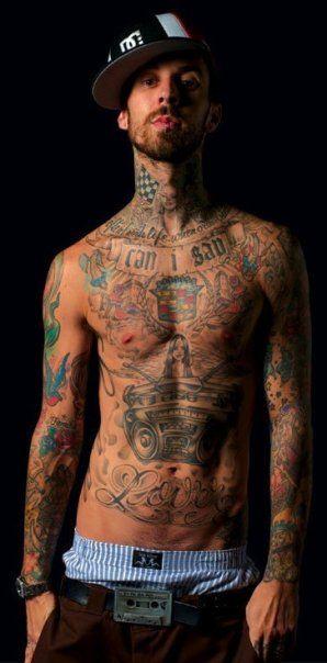 Tattoo Travis Fuckings His Friend In A Hardcore