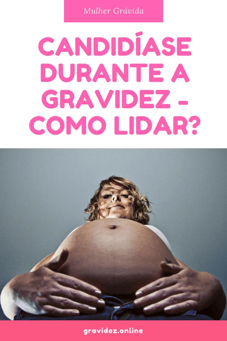 o que causa candida na gravidez
