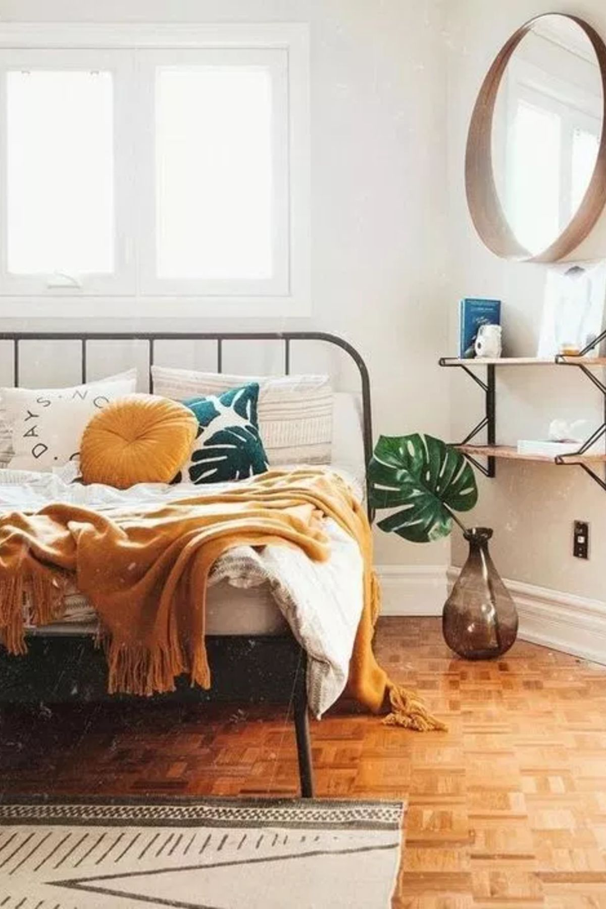 30 Boho Chic Bedroom Decor Ideas And Inspiration Rustic Yellow