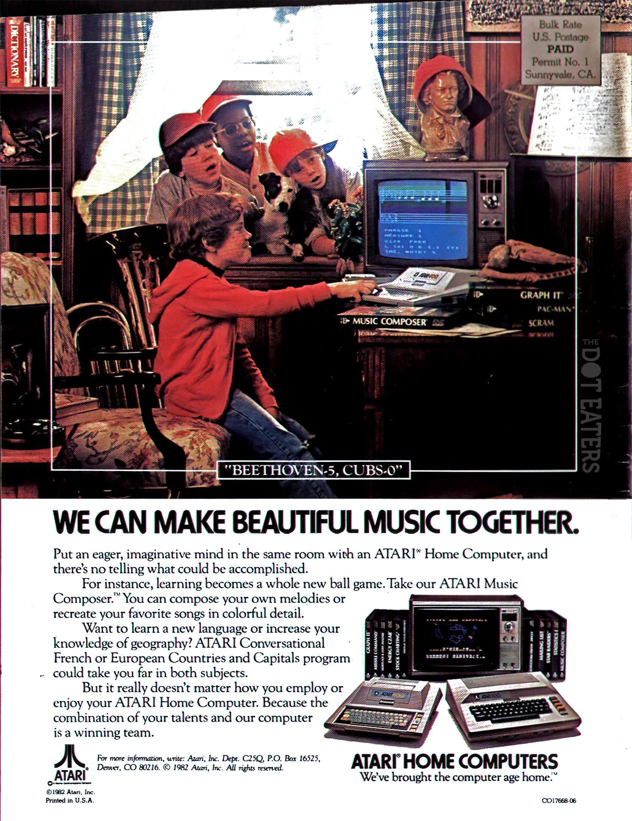 There's no way those kids could see that screen (1983)  #computer