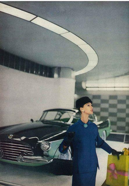 Barbara Mullen, October Vogue 1955