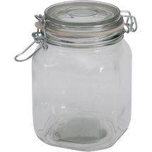 walmart mainstays 38 oz clear glass jar with clamp lid fermentation pinterest jar. Black Bedroom Furniture Sets. Home Design Ideas