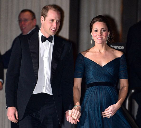 Prince William and Kate Middleton Say Farewell to New York City #InStyle