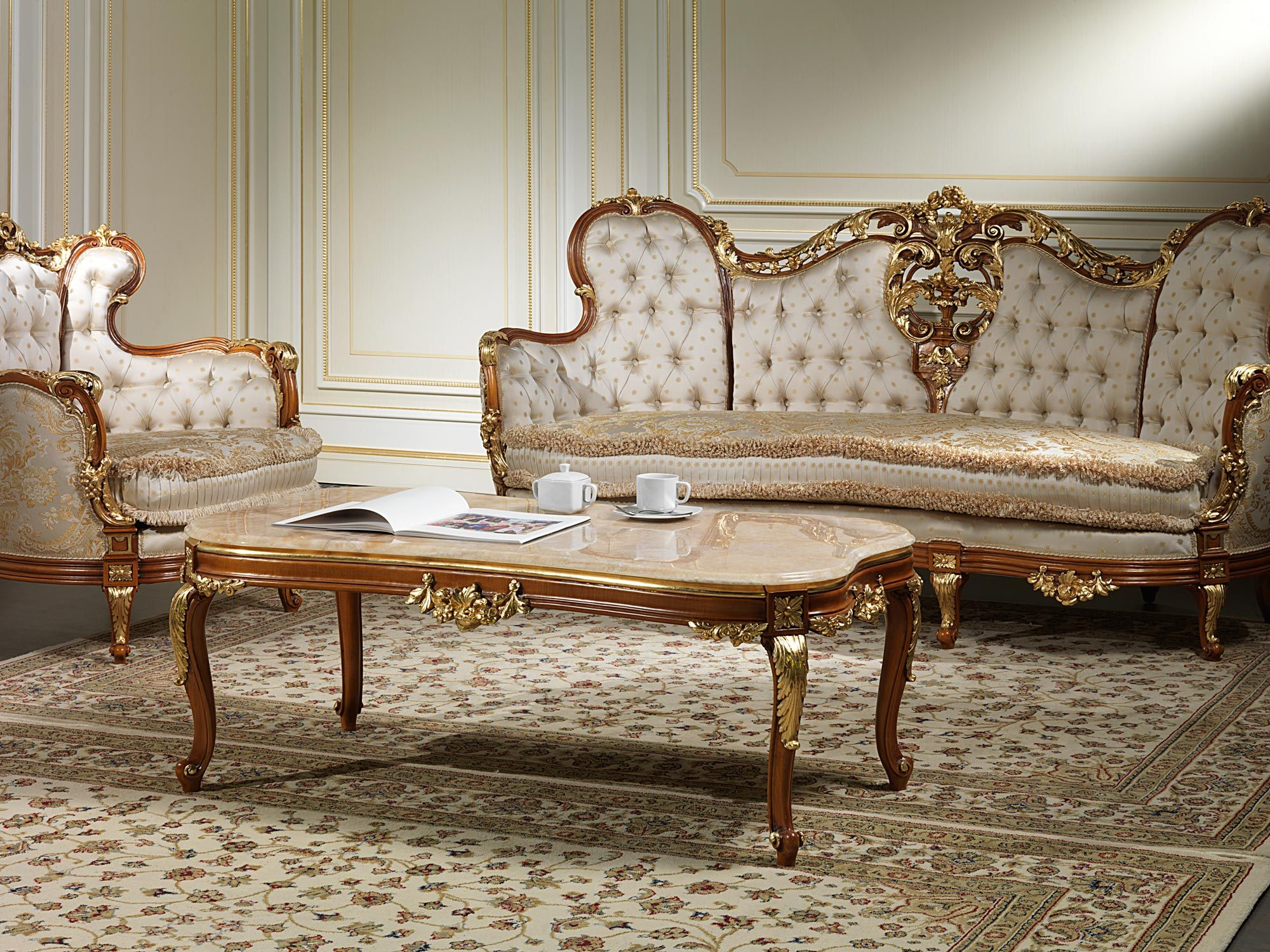 Sofas 800 Of Craft Production In The Classic Luxury Style Make Up