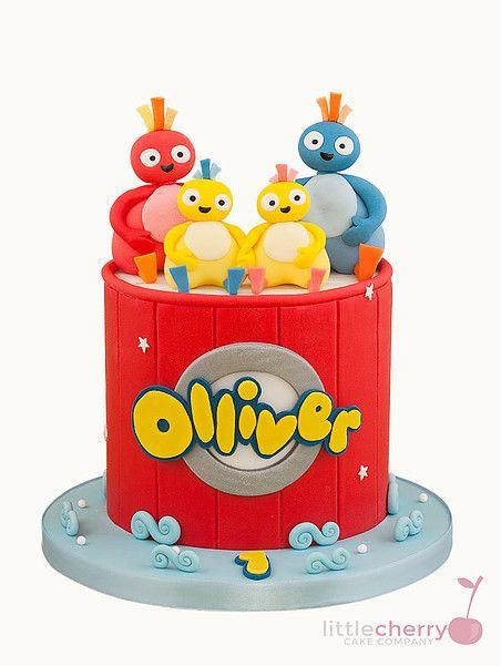 Quatang Gallery- Little Cherry Cake Company Twirlywoos Cake Birthday Cake Kids Cake