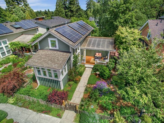 This charming craftsman home has more than one feature that makes it a modern dream home.