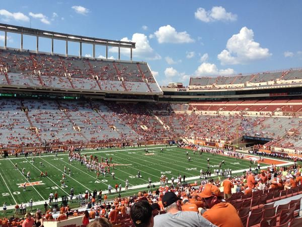 PHOTO: Does Anyone Go To Texas Longhorns Games Anymore? | FatManWriting