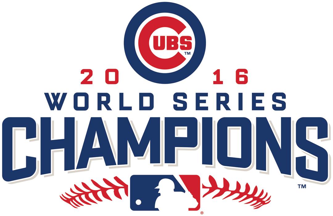 Chicago Cubs Champion Logo 2016 Cubs 2016 World Series Champions Logo Chicago Cubs Cubs World Series Champion Logo