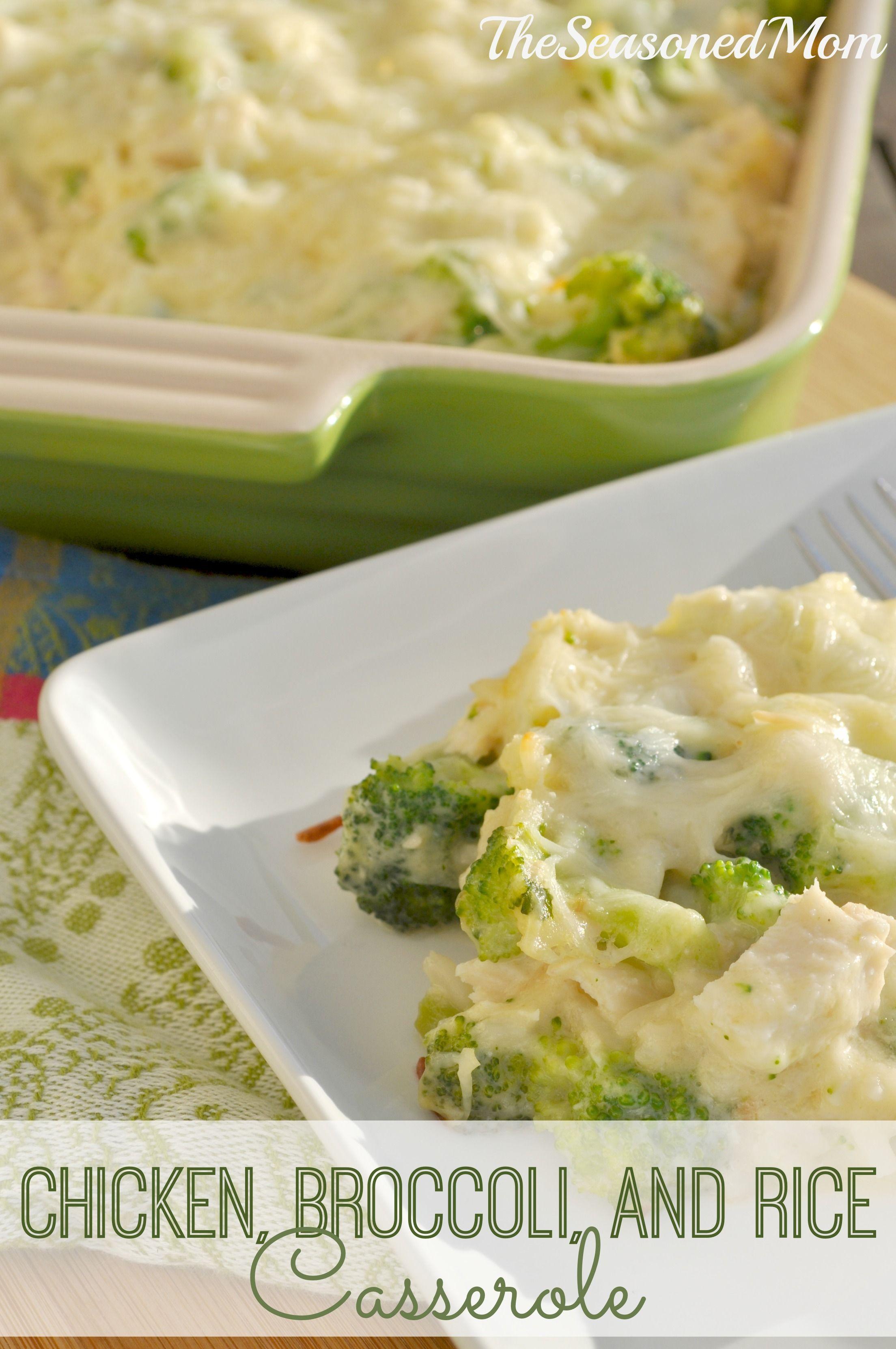 Chicken, Broccoli, And Rice Casserole  Recipe  Broccoli -7604
