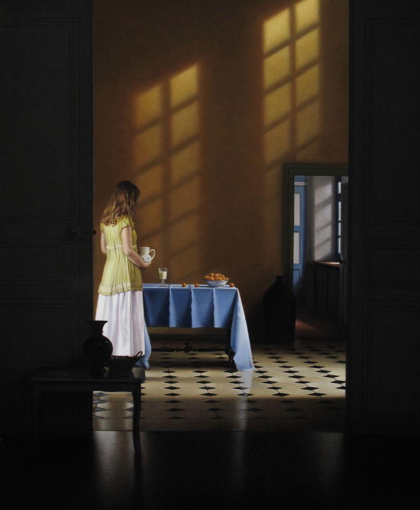 Pierre Yves Russo images | Pierre-Yves Russo, peintre » Scènes d'intérieur