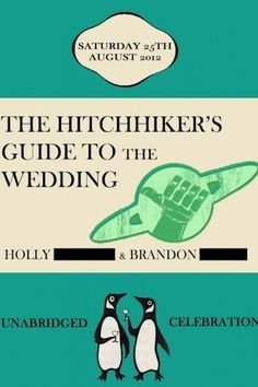 24 Adorably Geeky Wedding Invitations