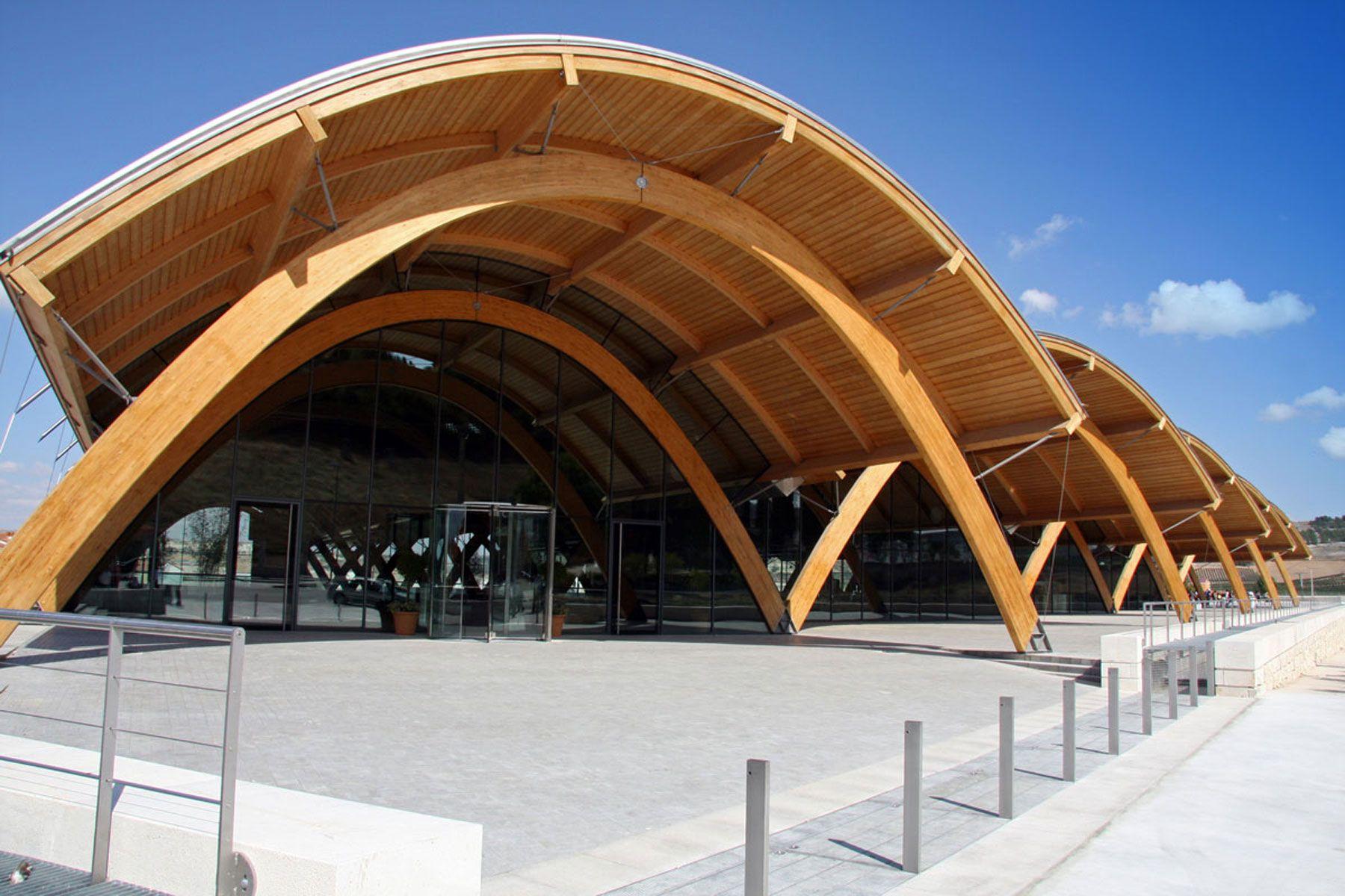 Estructuras de madera laminada buscar con google arq - Estructura madera laminada ...