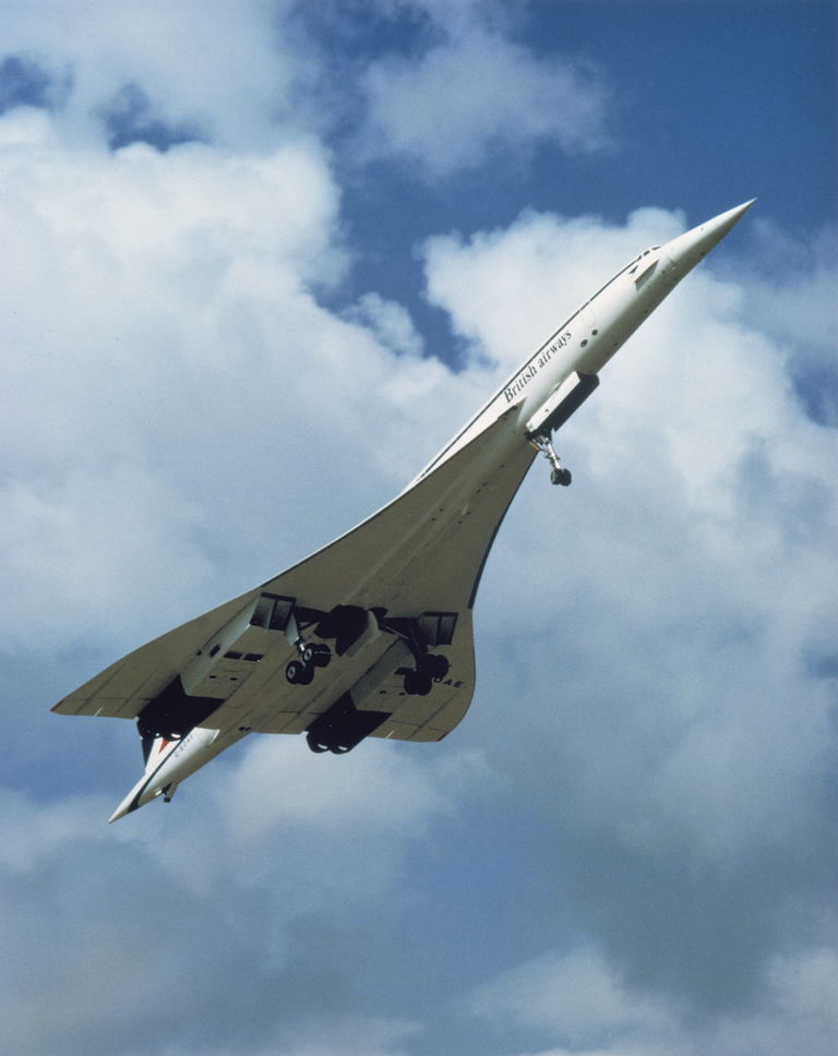 Concorde on its maiden 27minute flight, March 2, 1969