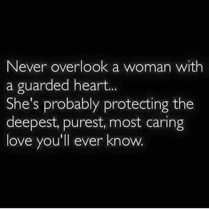 How to love a guarded man