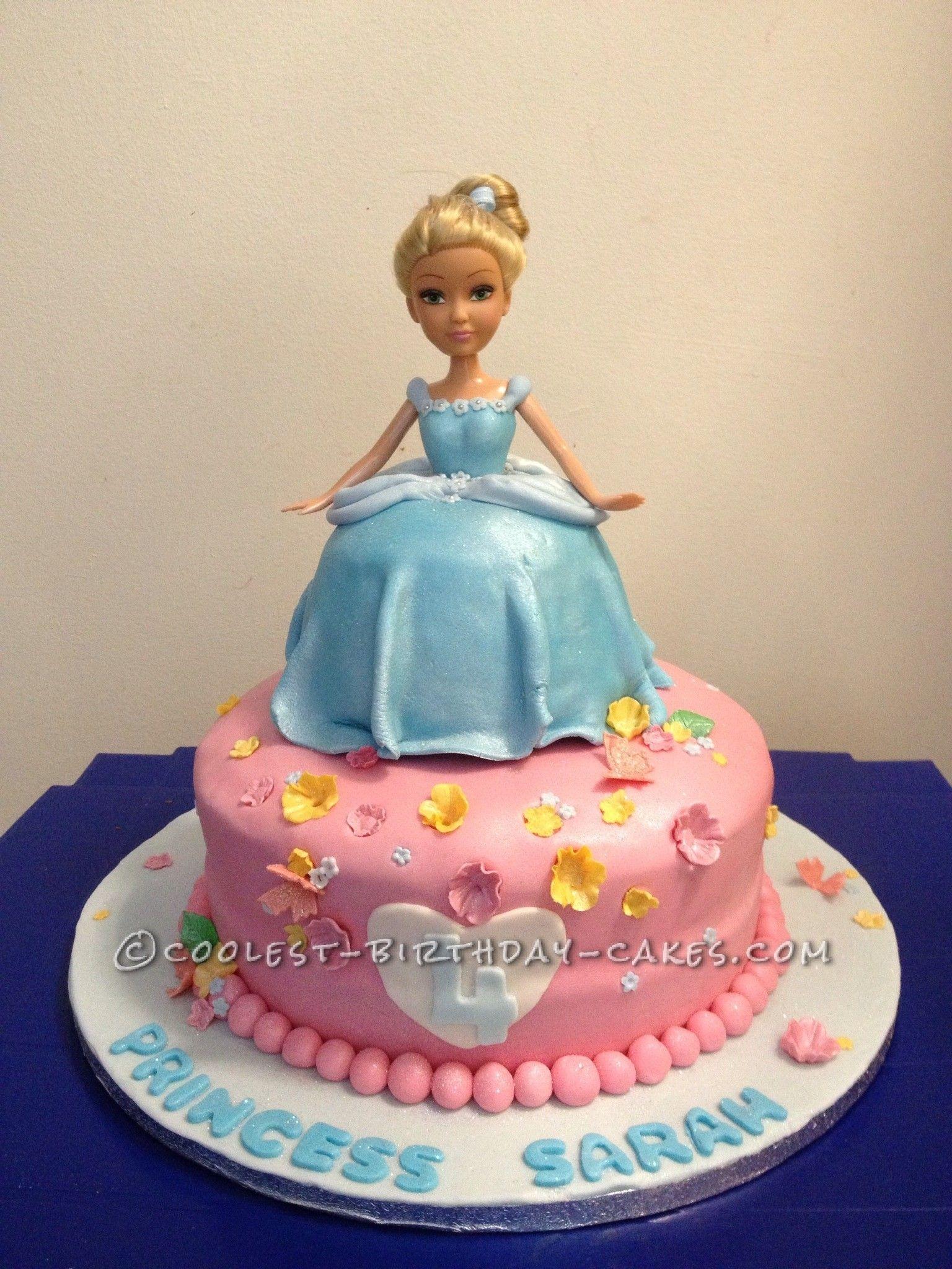 Coolest Cinderella Princess Cake