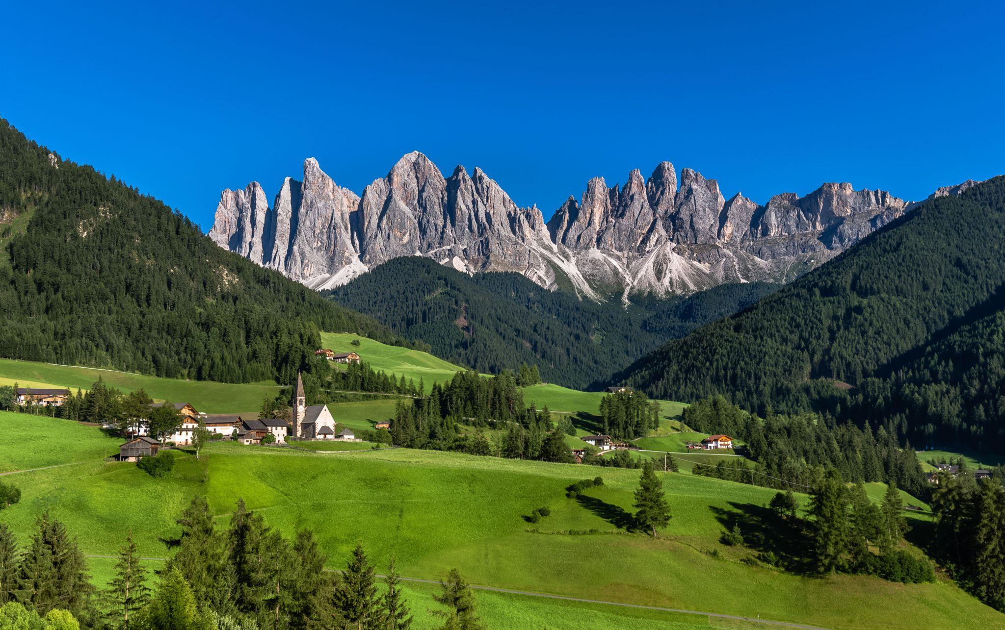 Photograph Santa Maddalena, Val di Funes, Dolomites by ...