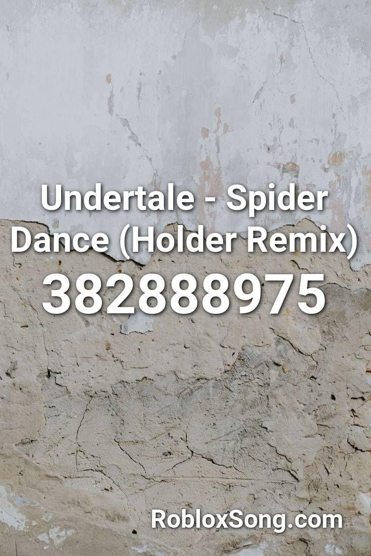 Undertale Spider Dance (holder Remix) Roblox ID Roblox