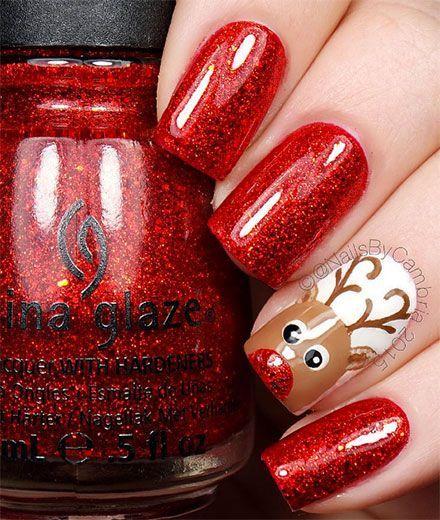Die schönsten Christmas Nails zum Selbermachen