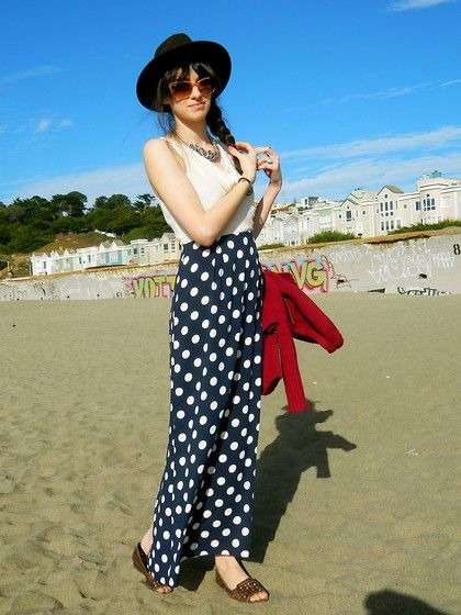 Polka (by Shermineh Ghane) http://lookbook.nu/look/3111265-Polka