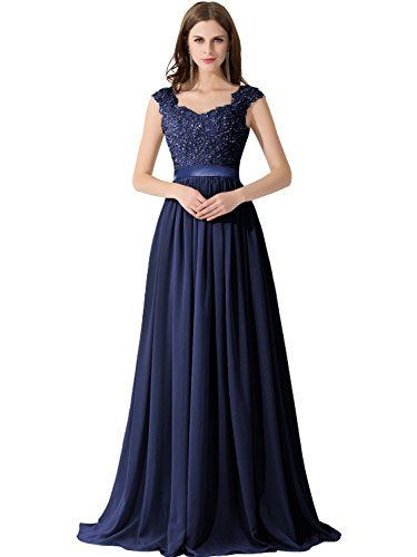 4f30c3aa54a83 Babyonline Women's A-line Evening Dresses Lace Chiffon Long Prom Party Gowns  - Reviews