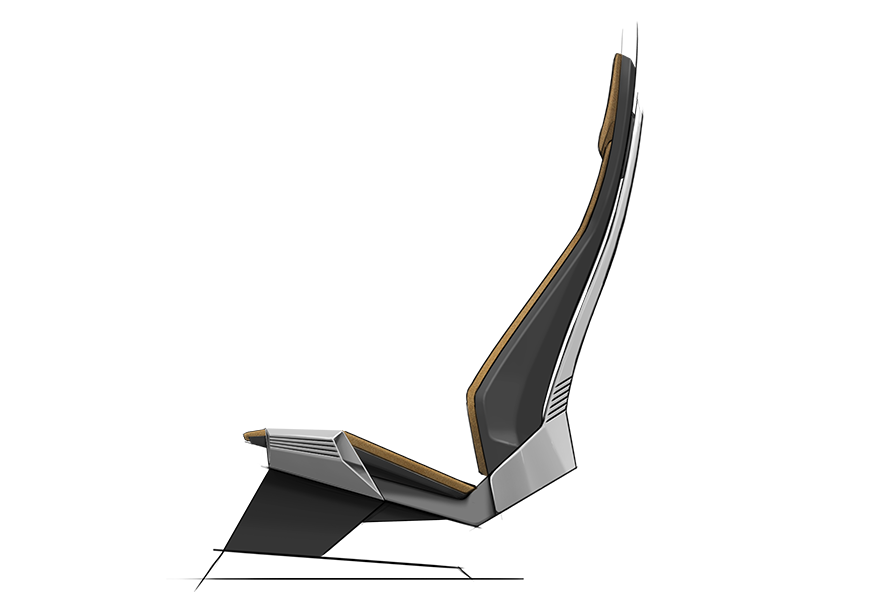 Pin By Adria Ruiz On Autkoelektryk Minimalist Chair Futuristic Furniture Seat Design
