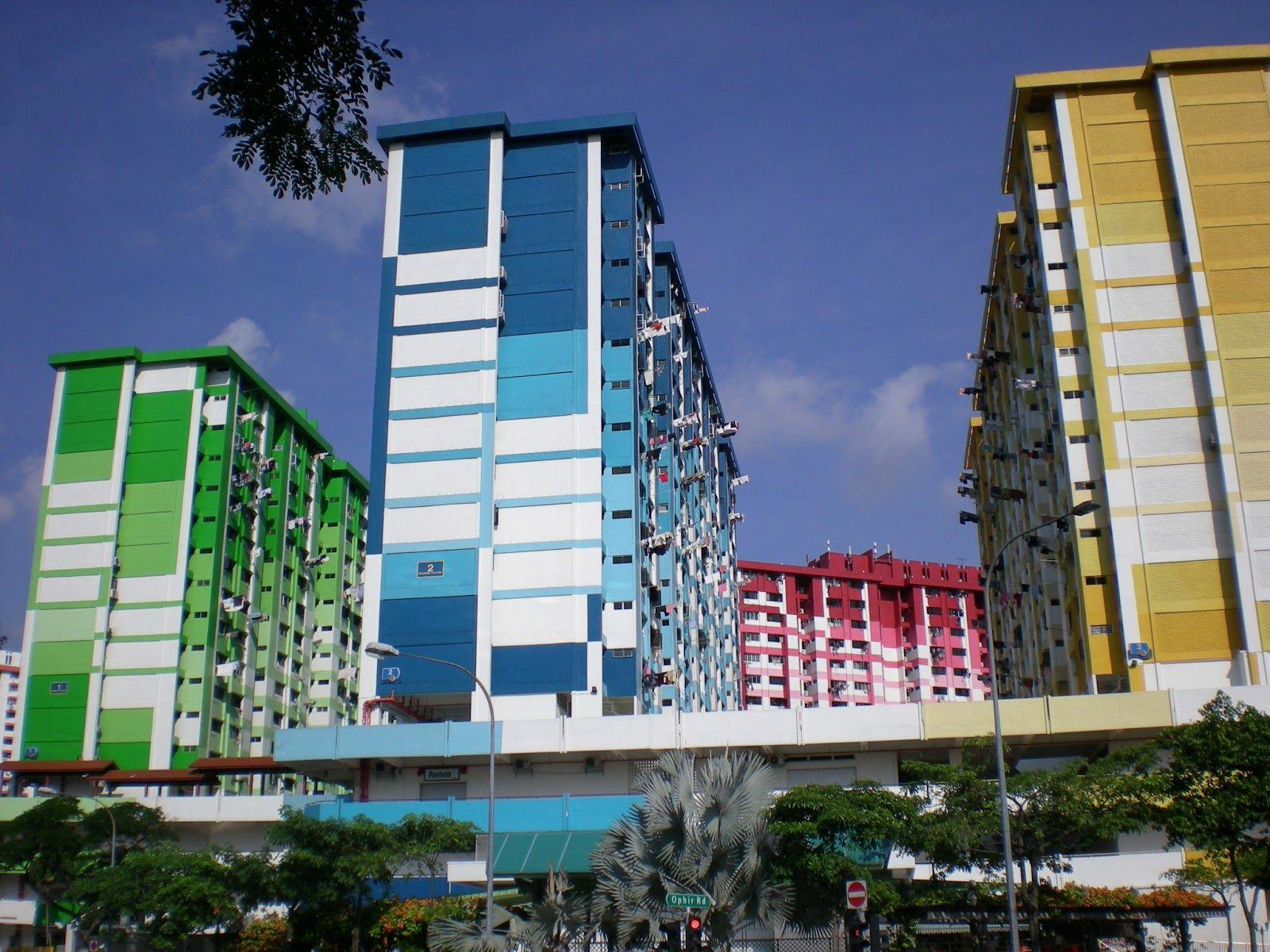 bright rainbow hdb apartments flats in singapore singapore