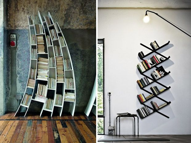 idee originali per una libreria fa i da te rubriche