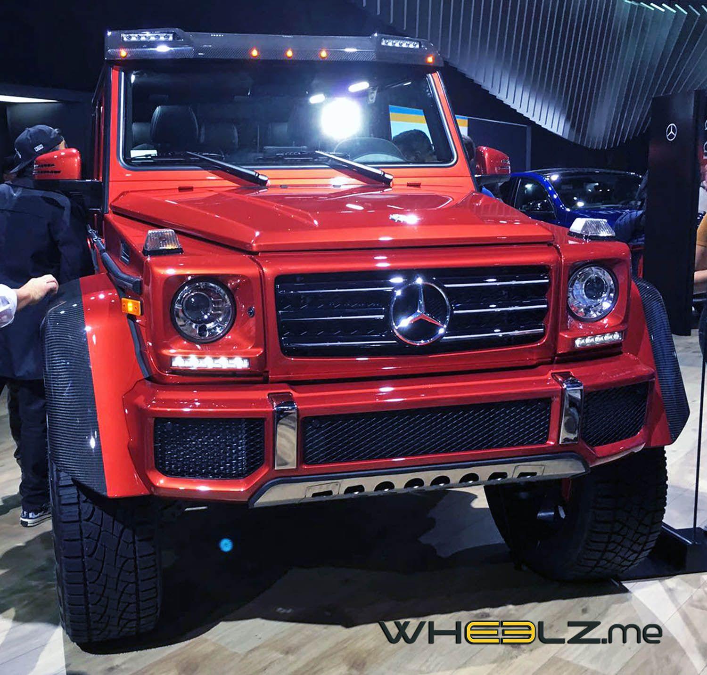 مرسيدس بنز جي500 4x4 نسخة العضلات المفتولة موقع ويلز Mercedes Benz G500 Benz G500 Mercedes Benz