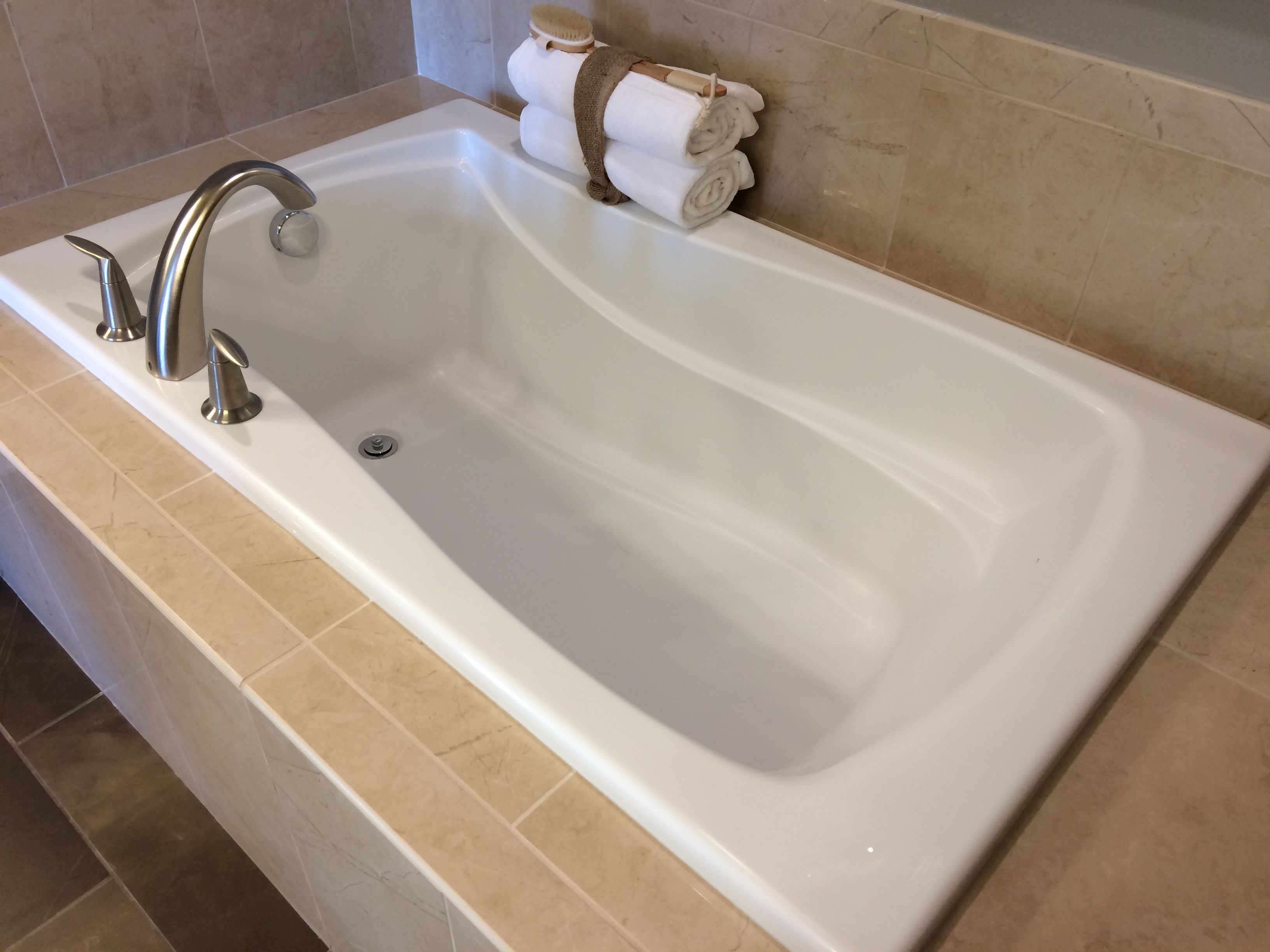 Soaking Tub with Widespread Faucet - A 5-Foot length will come ...