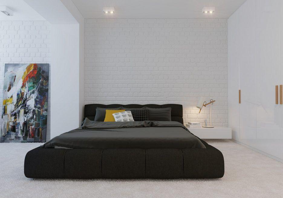 Bedroom Appealing Open Shelving Black Wood King Bed Frames Luxury Furnitu Minimalist Bedroom Minimalist Bedroom Design With Framing Minimal Bedroom Minimalist