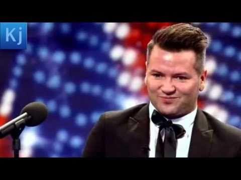 Britains got talent Edward Reid nursery rhyme singer ~~I absolutely LOVE this!