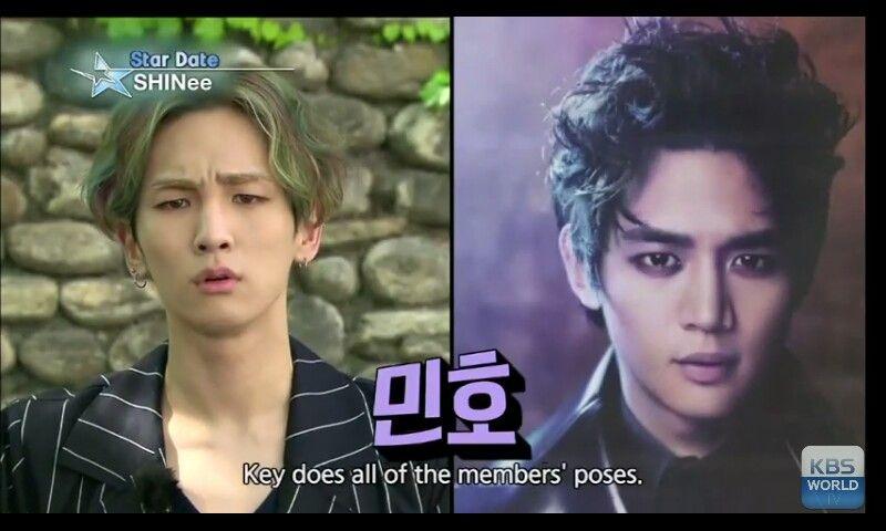 Key imitating Minho