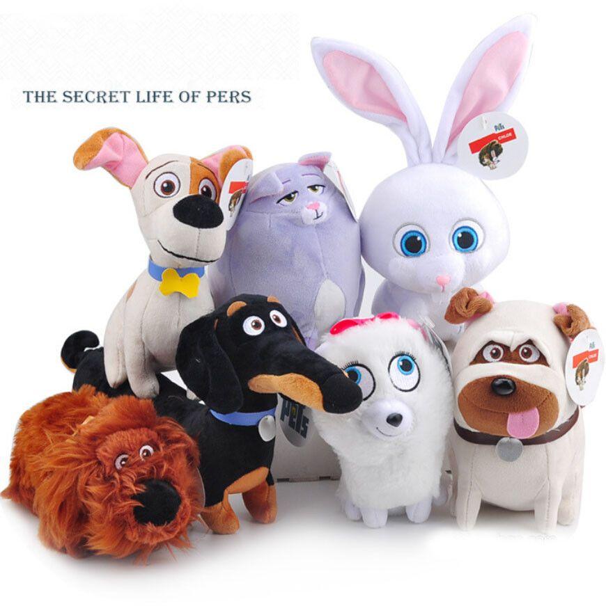 Free Shipping Large 7styles The Secret Life Of Pets Plush Toys