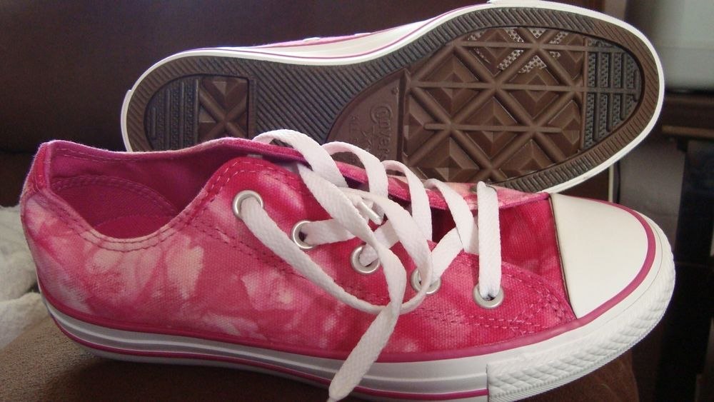 7cf80330748bb7 NEW CONVERSE CT ALL STAR OX PINK TIE DYE UNISEX SZ 6 WO S SZ 4 MENS142455F  in Athletic