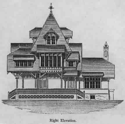 Swiss Gothic Cottage 1879 Cottage Floor Plans Free House Plans House Plans