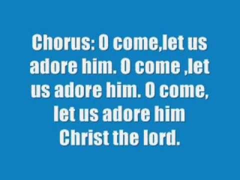 Susan Boyle, Elvis Presley - O Come, All Ye Faithful - YouTube   Favorite christmas songs, Lyrics