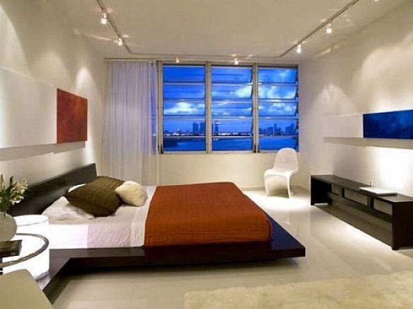 Track light bedroom ceiling lights ideas | Decolover.net | Bedroom ...