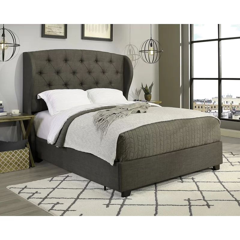 Sornson Upholstered Low Profile Storage Platform Bed