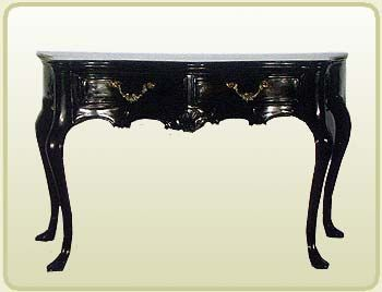 Consola salones de estilo pinterest muebles antiguos for Epoca muebles