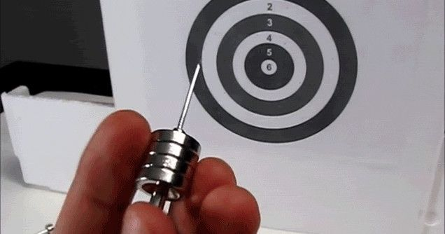 Magnetic Darts Are Scary Powerful