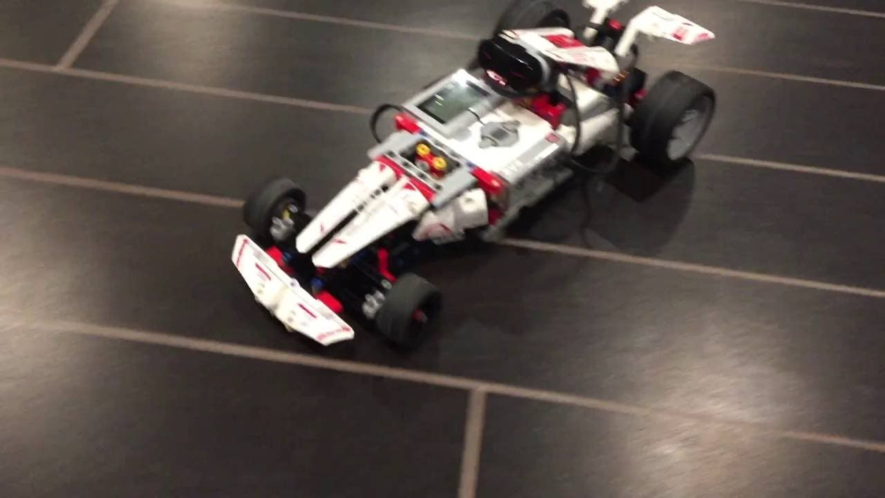 LEGO EV3 Mindstorms F1 Robo Race Car - LEGO 31313 Demo by