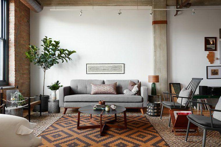 Industrial Style Wohnzimmer: Ideen Für Möbel Und Dekoration #dekoration  #ideen #industrial #mobel #style #wohnzimmer