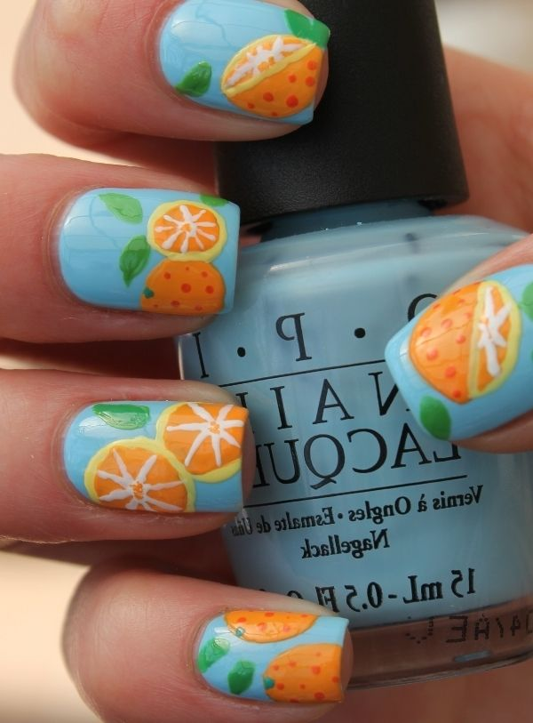 Fruit Nail Art... <3 | ~<3Fav Rock Star Nails<3~ | Pinterest | Fruit ...