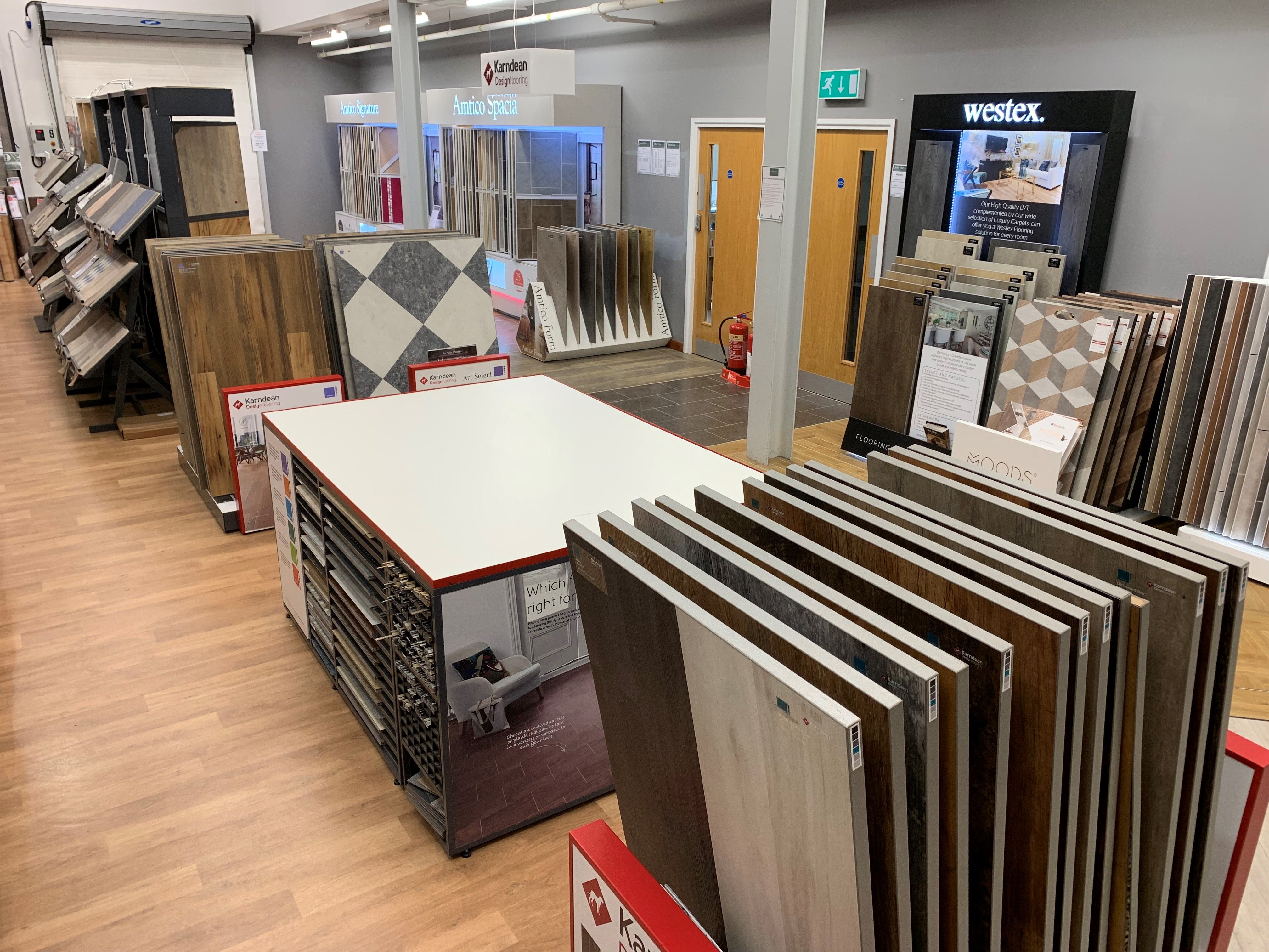 We Have A Huge Selection Of Karndean Design Flooring In Store Now Our Fitters Are Expertly Karndean Design Flooring Local Furniture Stores Furniture Today