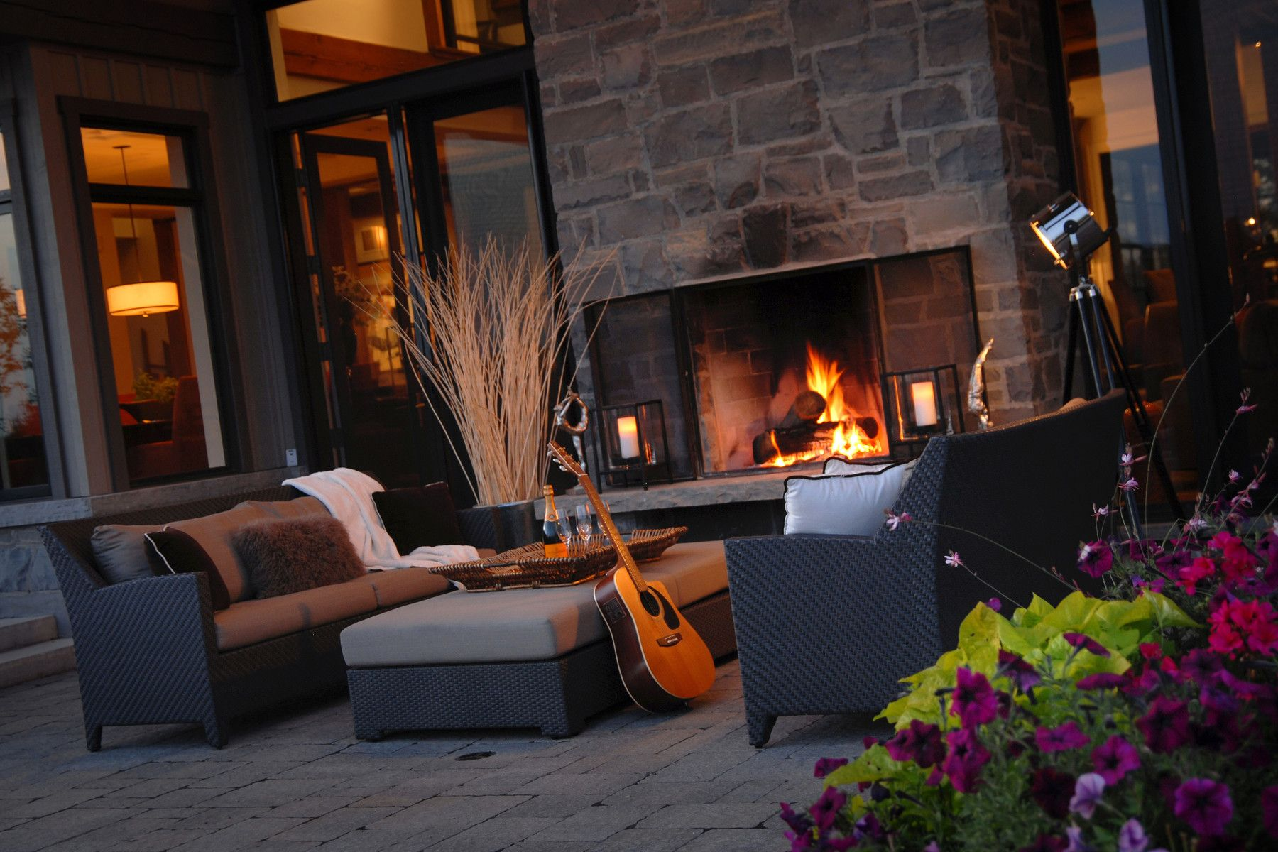 Garden fire features  Fire Features  The Landmark Group  Garden  Pinterest  Gardens