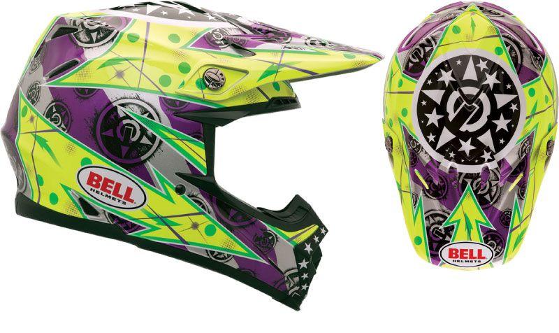 Bell Moto 9 Unit Hot Yellow Helmet Bell Moto Youth Dirt Bikes Bell Helmet
