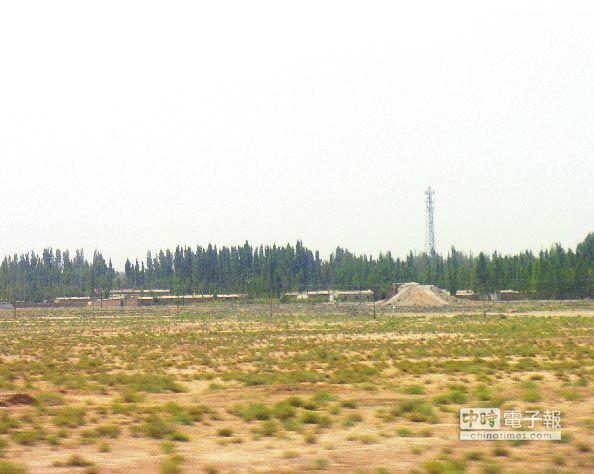新疆馬蘭核子試驗基地。(CFP)