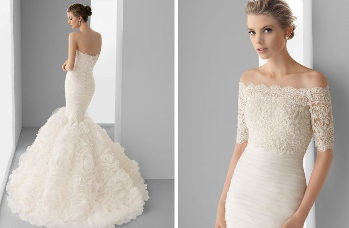 30 Stunning Wedding Gowns From Alma Novia 2013