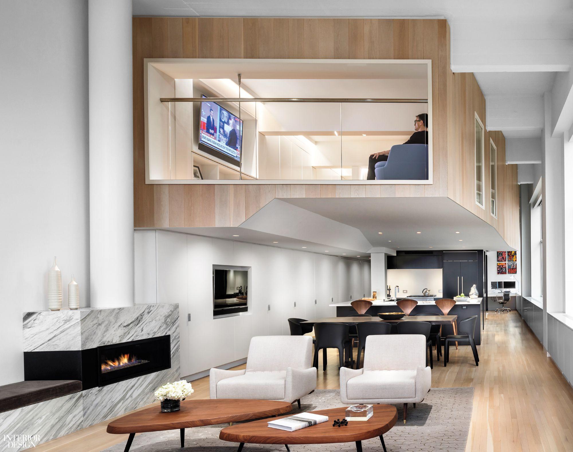 Duplex Loft By Joel Sanders Architect 2017 Best Of Year Winner For Small Apartment